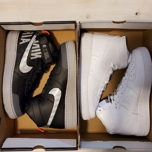 Nike Air Force 1 high 07 2-pairs size 12